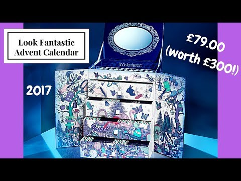 **SPOILER** Look Fantastic Beauty In Wonderland Advent Calendar (worth over £300!)