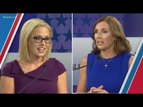 Democrat Krysten Sinema wins open U.S. Senate seat over Republican Martha McSally