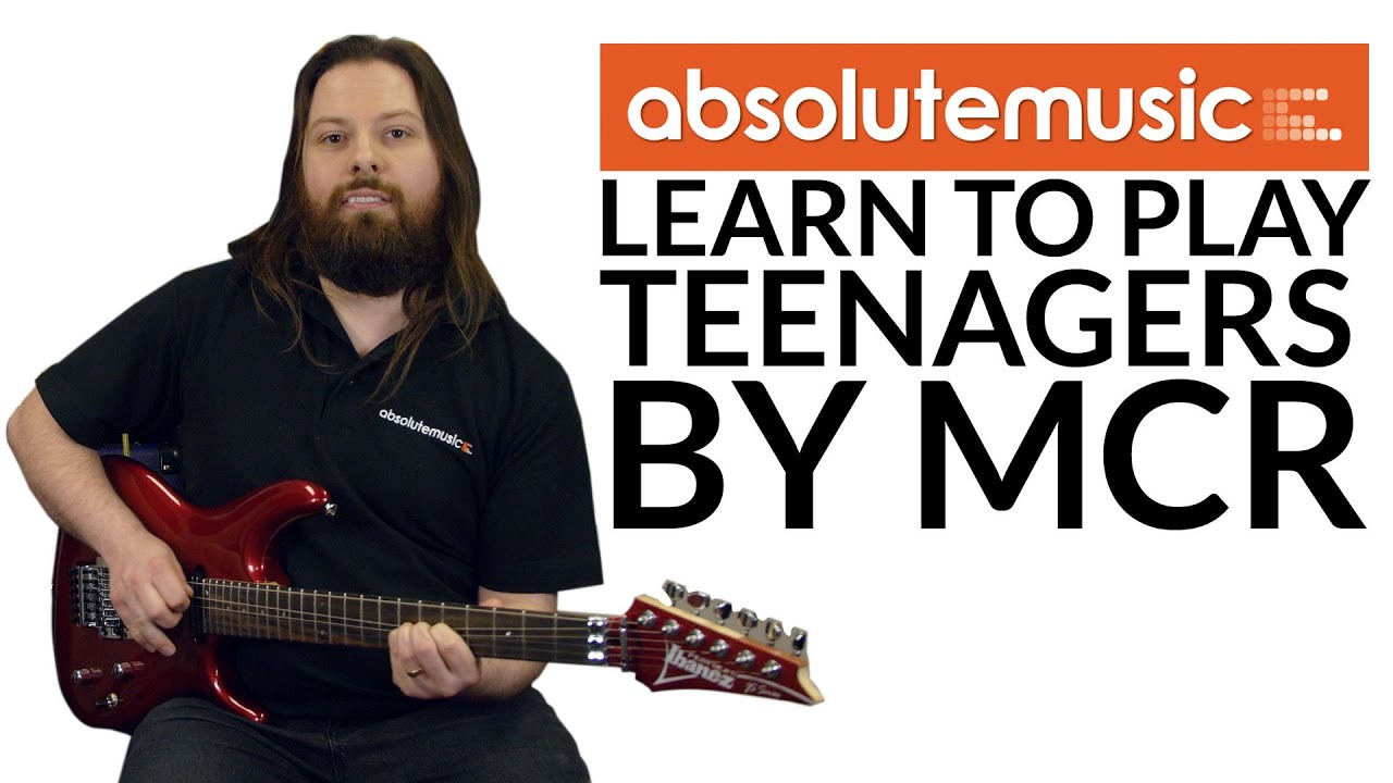 Learn to Play Guitar: Teenagers by MCR - YouTube