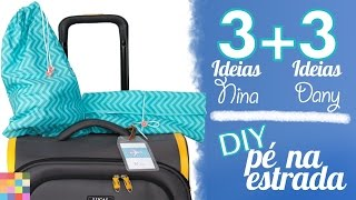 6 DIYs para arrumar a mala e viajar tranquilo