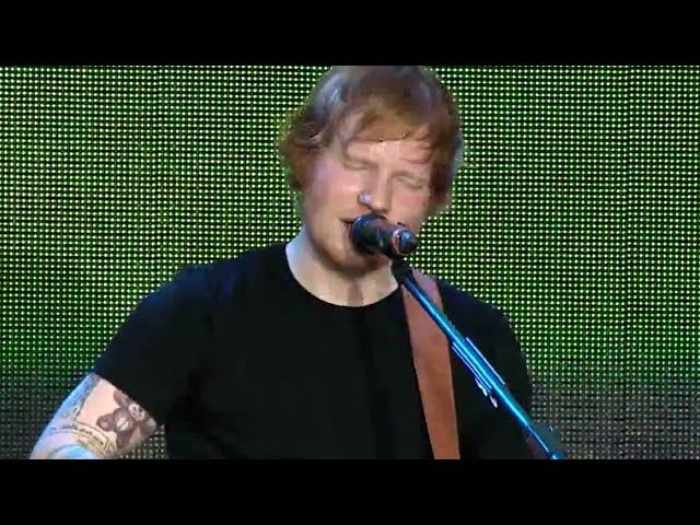 Ed Sheeran - Thinking Out Loud (Summertime Ball 2014)
