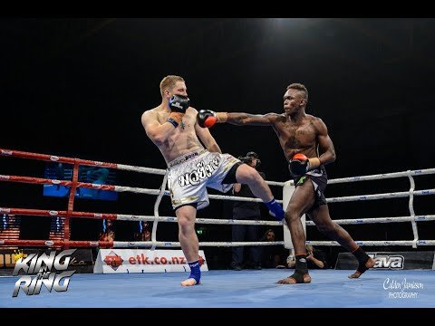 King in the Ring Trans Tasman 100kg 8 Man Final - Israel Adesanya vs Jamie Eades
