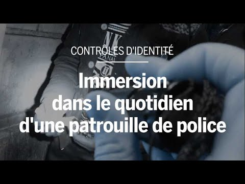 Paris : des images inédites de la police lors de patrouilles dans le 12ème arrondissement
