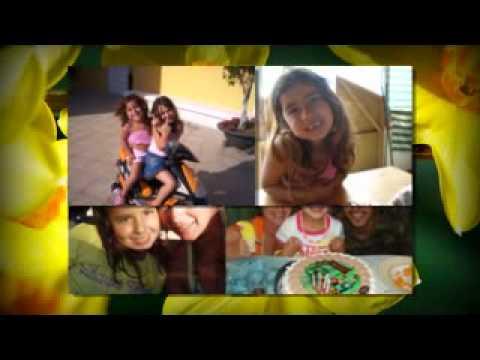 Ainara. Video proyectado en su comunion