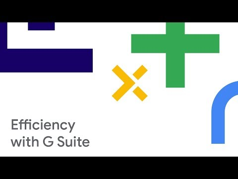 Why Google Docs, Sheets, and Slides? How G Suite Transforms your Company's Workflow (Cloud Next '18)