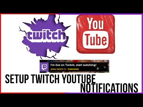 How To Setup Twitch Notifications On All Of Your YouTube Videos - Twitch Tutorial