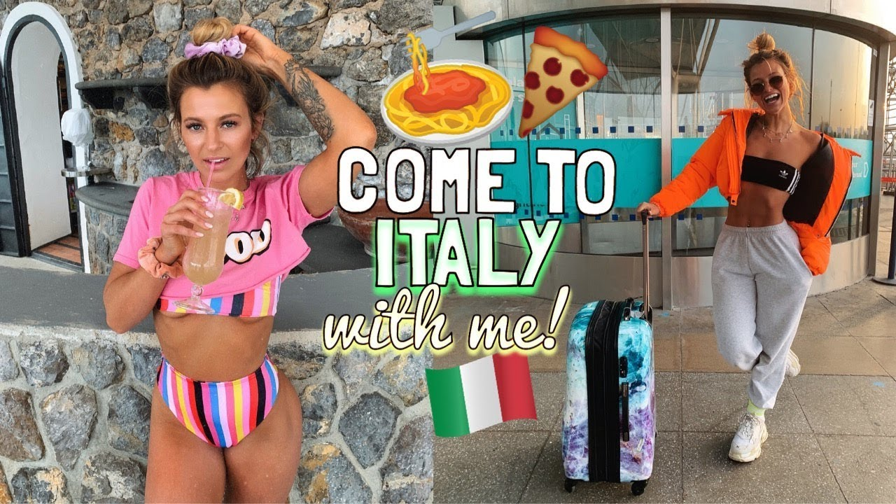 COME TO ITALY WITH ME! WHAT I WORE, ATE & DID ON THE AMALFI COAST!!