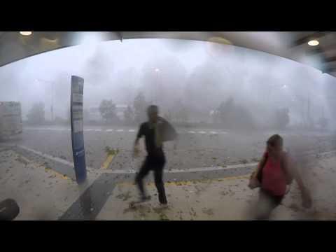 Summer Storm in Brisbane - November 27th, 2014