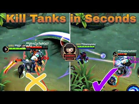 Kill Tanks Easily | Anti-Tank Guide  | Skin Giveaway | Mobile Legends Bang Bang thumbnail