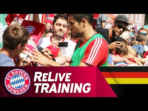 ReLive FC Bayern Training @ Säbener Straße