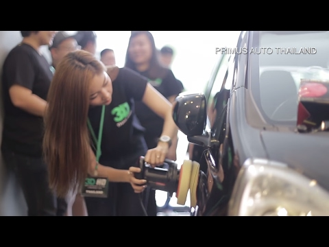Primus Auto Thailand - Seminar and new store opening automotive paint repair buffer ไทย