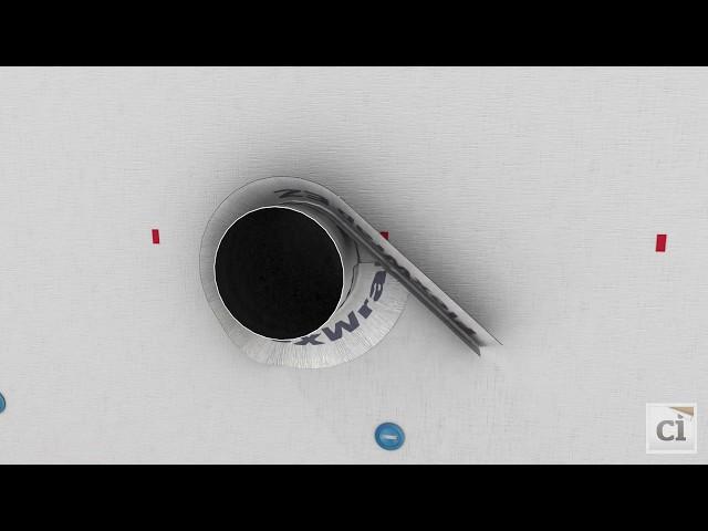 How to install DuPont™ FlexWrap™ EZ around HVAC components