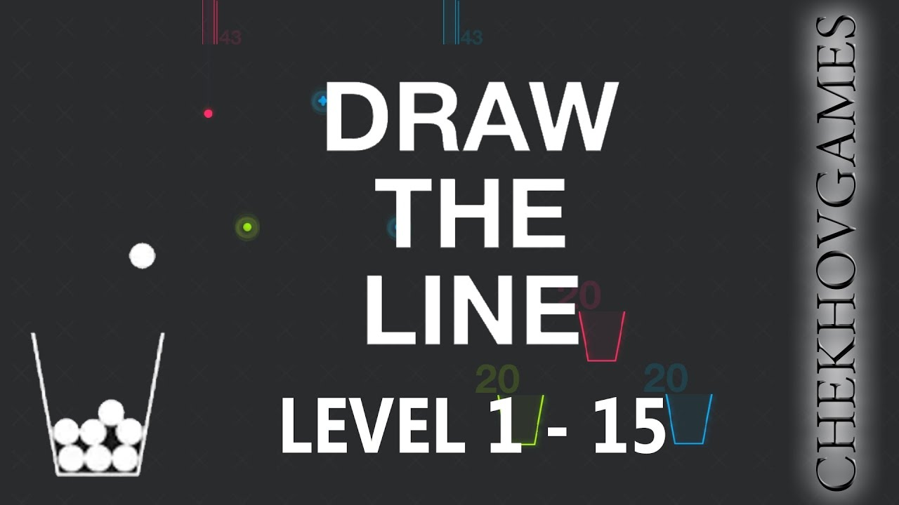 Draw The Line Level 1 15 Walkthrough Game By Qizz Youtube