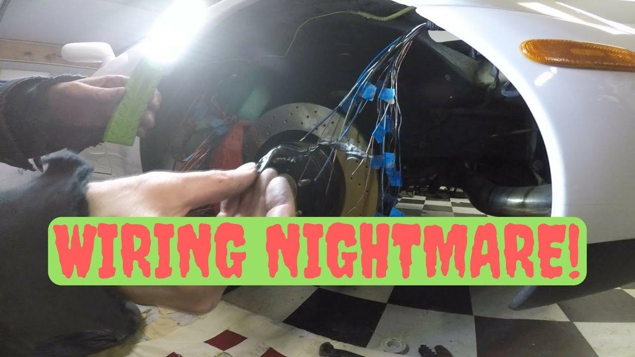 Wiring Nightmare Supra Series  5 Plus Carbon Fiber