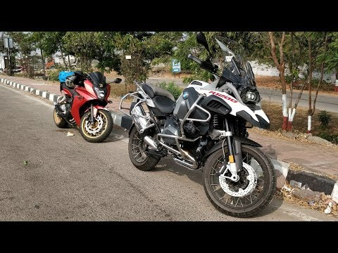 The BMW R1200GS Adventure...