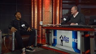 Former NFL RB and DWTS Champ Rashad Jennings Joins the Rich Eisen Show In-Studio   Full Interview