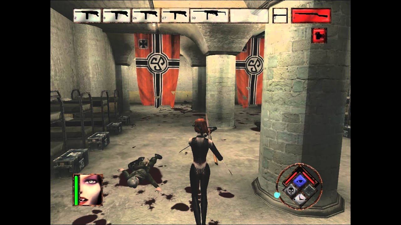 Bloodrayne Gameplay Part 16 Hard Difficulty Hd Youtube
