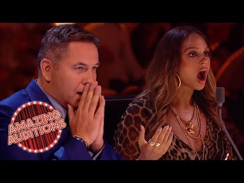 GOLDEN BUZZERS - Britain's Got Talent: The Champions   Amazing Auditions