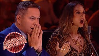 Download GOLDEN BUZZERS - Britain's Got Talent: The Champions | Amazing Auditions Mp3 and Videos