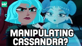 Who Is The Enchanted Girl With Cassandra? | Tangled The Series Theory