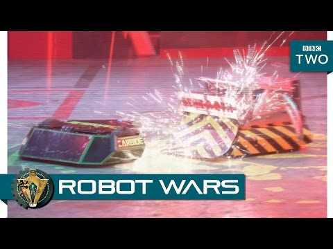 Carbide vs Behemoth - Robot Wars: Episode 1 Highlight - BBC Two