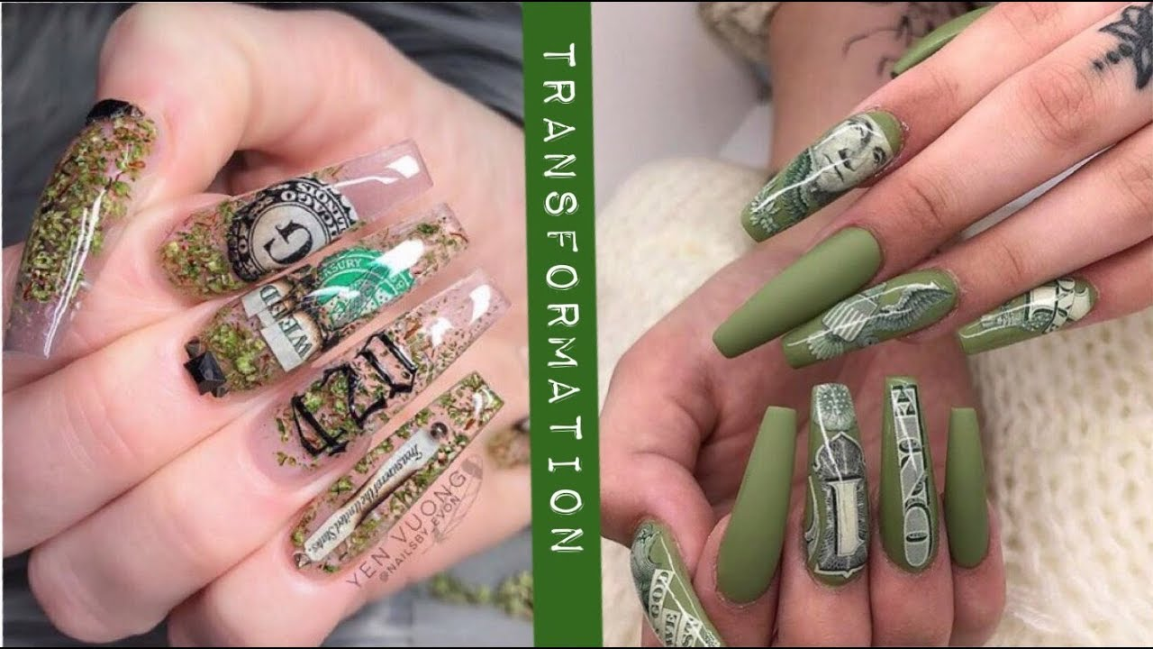 BEST INSTAGRAM NAILS TUTORIAL | NAILS 2019 - YouTube
