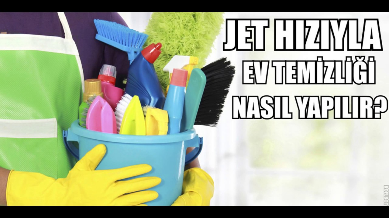 Ev temizliği için pratik fikirler