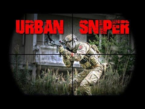 Airsoft DMR Sniper Gameplay Deutsch - Mission 24H - Urban Sniper