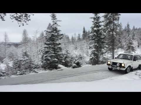 Rally Test Elverum 2017.12.16 - Rolf-Ingar Schou (Ford Escort MK2) 1