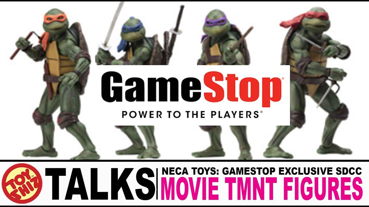 Toy Shiz Talks Neca Toys Gamestop Exclusive Sdcc Tmnt Figures