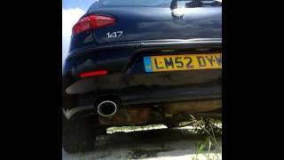 Alfa Romeo 147 1.8 twin spark 16v exhaust sound