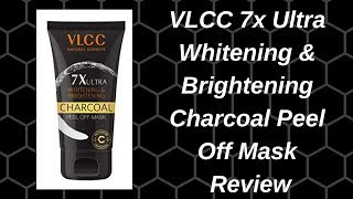 VLCC 7x Ultra Whitening & Brightening Charcoal Peel Off Mask Review