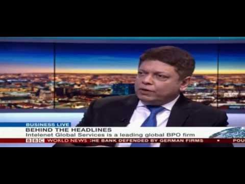 Susir Kumar, Executive Chairman, Intelenet in an exclusive chat with Jamie Robertson of BBC News