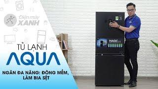 Tủ lạnh Aqua: cấp đông mềm Magic Room đa năng, tiện dụng (AQR-I298EB-BS)   Điện máy XANH