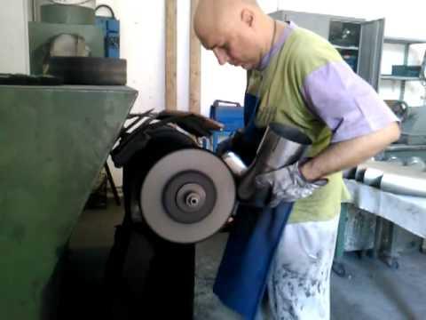 Lucidatura manuale acciaio inox www luxsteels it youtube - Lucidatura acciaio inox a specchio ...