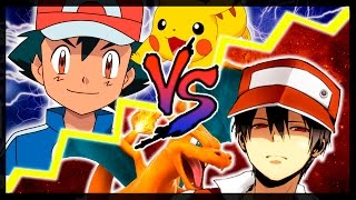 Repeat youtube video RAP POKÉMON ||| ASH VS RED ||| SHARKNESS