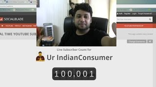 1,00,000 SUBSCRIBERS to Ur IndianConsumer !
