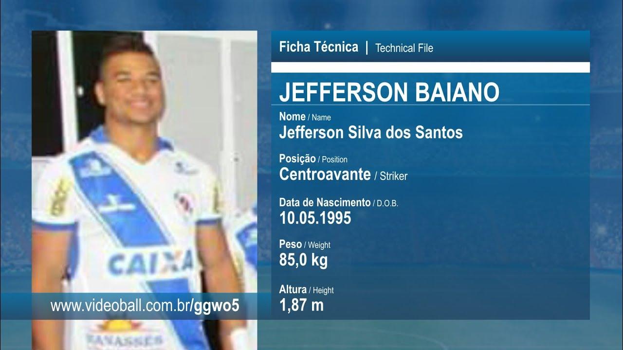 335907eb3c Jefferson Baiano - Centroavante - Melhores Momentos - YouTube