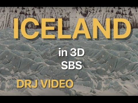 Holiday in Iceland 3D SBS Cardboard