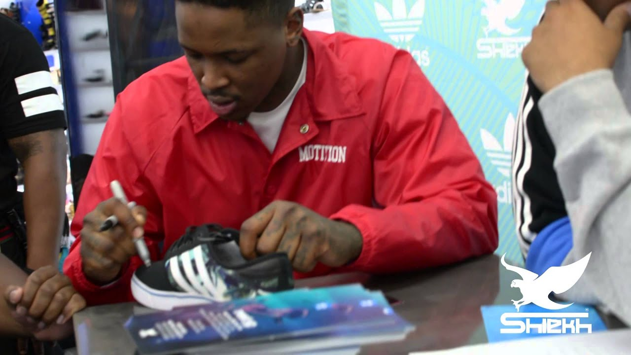 Shiekh shoes presents yg meet and greet in culver city ca youtube m4hsunfo