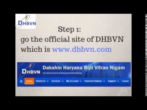 How to Pay DHBVN Online bill Payment - Haryana Electricity bill Payment Process from YouTube · Duration:  1 minutes 31 seconds