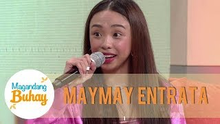Maymay reveals that she