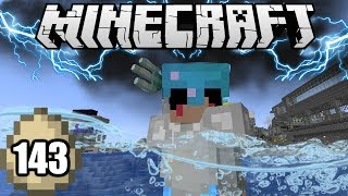 Minecraft Survival Indonesia - Tombak Dewa Laut! (143)