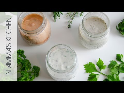 3 Quick & Easy Yogurt Salad Dressing Recipes