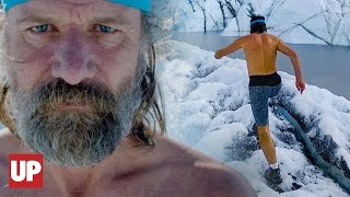 "Superhuman ""Iceman"" Wim Hof is showing the world how to kick Mother..."