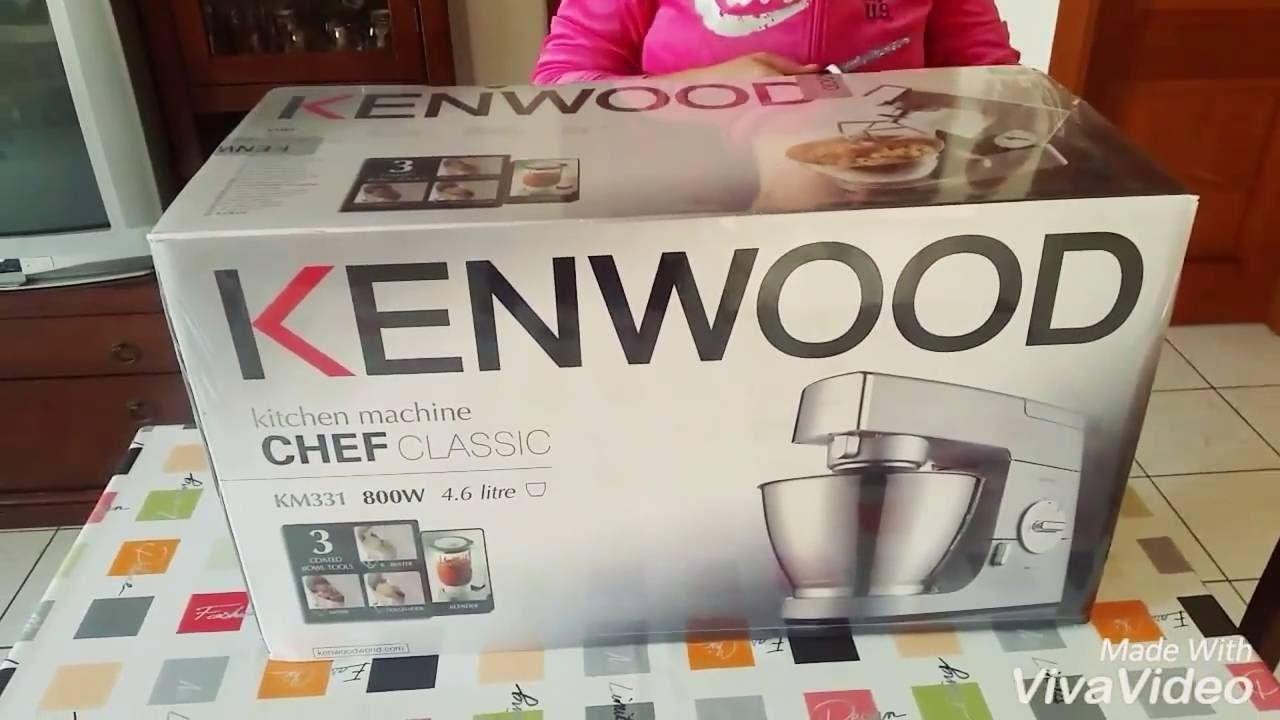 Kenwood Chef Classic Km331 Unboxing Youtube