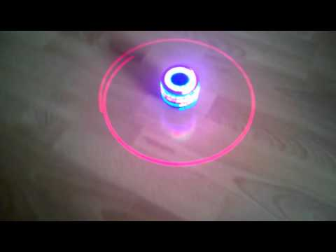 FLIPZON Laser Spinning Top With Music And Lightning