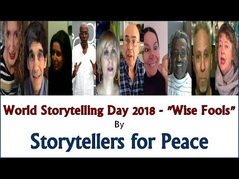 World Storytelling Day 2018 video Storytellers for Peace