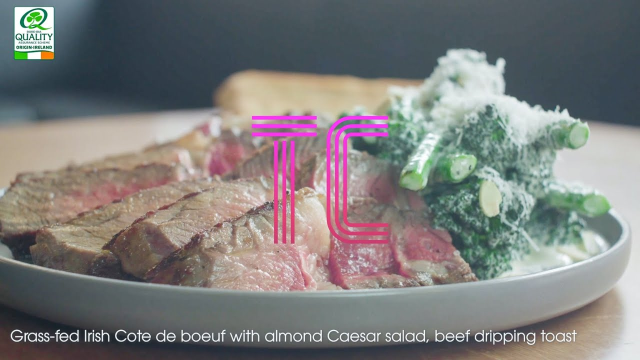 Recipe - Grass-fed Cote de Boeuf with beef dripping toast