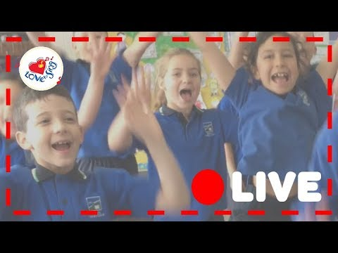 Kids Action Christmas Song LIVE Pop, Bang, Crack | Children Love to Sing